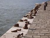 Shoes on the Danube Promenade Memorial