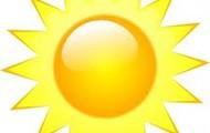 Monday: Sunny
