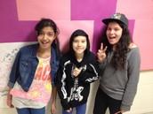 Zoha, Nicolas & Daniela