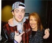 Mac miller y su mamá