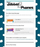 Cisco Jabber & Phones