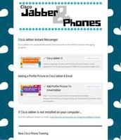 Cisco Jabber & Phones