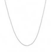 """16"""" DELICATE CHAIN  - 2 inch extender - sterling silver"""
