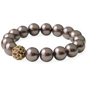 Brown Soiree Stretch Bracelet
