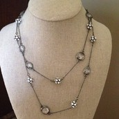 Cheslea Necklace- can be worn long or doubled as shown