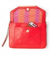 TIA CROSS BODY - CERISE $34 (65% off)