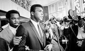 Muhammad Ali tells public about him refusing to fight in Vietnam War