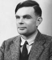 Alan Turing as a man
