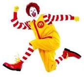 McDonald's Spirit Night - April 21st from 5:00 - 8:00