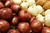 and onions