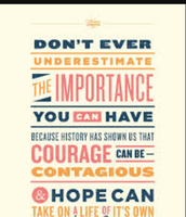 Courage Can Be Contagious