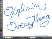 Tools on Explain Everything