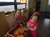 Corn Sensory Table