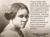 A Photo of MAdame C.J. Walker