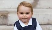 21month old heir to the throne Prince George