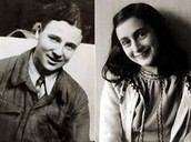 Peter and Anne Frank