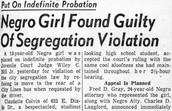 Claudette Colvin's Trial.