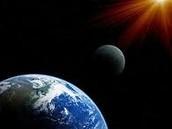 Moon blocking the sun
