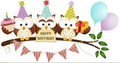 Look Whooo's Having a Birthday: