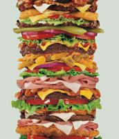 The largest hamburger..!