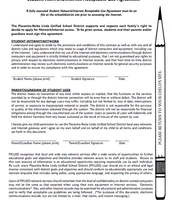 Student Network/Internet Acceptable Use Agreement