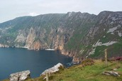 Beautiful landscapes in Ireland.