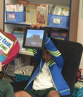 Rohan showed us his awesome Minecraft World!