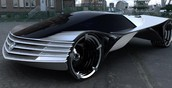 This is a Thorium powered car. It runs on 8 grams of Thorium for 100 years!
