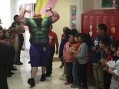 Mr. Hambly, Dorsey Elementary