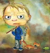 Cuento del niño malo