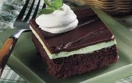 mint chocolate Brownie