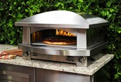 Our new and improved pizza oven