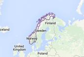 Norway's Location