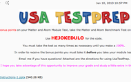 USAtestPREP Information