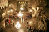This is the wieliczka salt mine