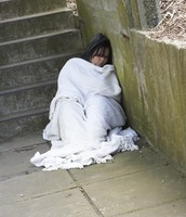 What are the effects of being homeless?