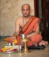 A Brahmin in India