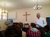 Pre-outreach and Prayer meeting