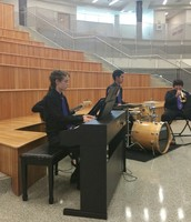CTHS Jazz Band Performs at Reception