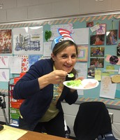 Mrs. Williams is excited!