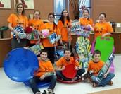 Un groupe d'élèves de OUICare est allé dépenser au delà de 600$