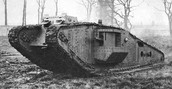 Tank used for WW1