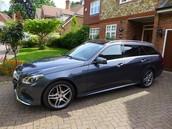 Mercedes E250 CDI Estate wagon AMG Sport Tenorite Grey Low Miles HI- Spec