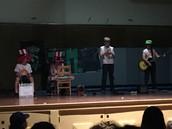 "JM band ""Ichor"" rocks the auditorium"