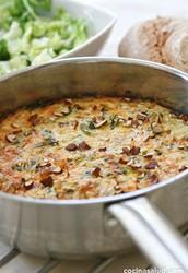 Para la Cena: Frittata de Espinacas