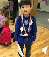 Interest Fair Participant, Harrison Shin!