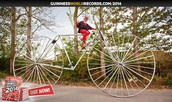 THE BIGGEST BICYCLE