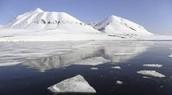 Les place qui les Bass- Terres De L`Arctique est De dans et la tempritur