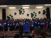 National Blue Ribbon Award- Novi Woods Elementary