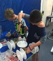 Charlie & Reegan building a Digger